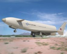 A concept image of the Pathfinder experimental aircraft (Credits: Lockheed-Martin).