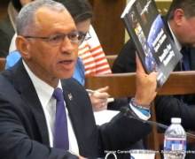 NASA Administrator Charles Bolden testifying before the U.S House of Representatives (Credits: US House of Representatives).