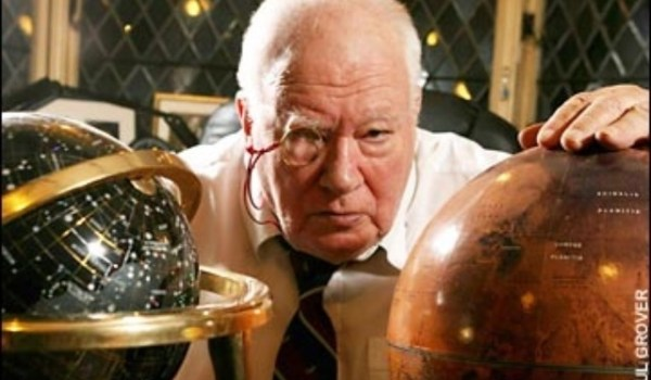 Sir Patrick Moore died on December 9, 2012 (Credits: Paul Grover).