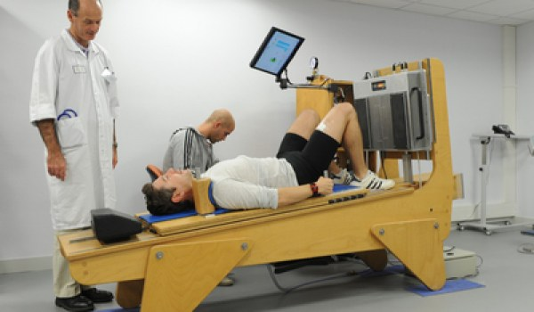 Exercise time in a bedrest study (Credits: ESA).