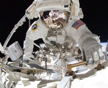 Research into astronaut eyesight deterioration is vital to the progression of human spaceflight (Credits: NASA).