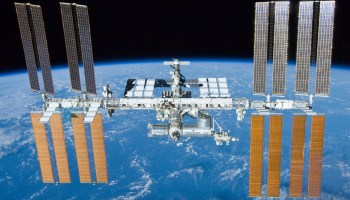 International Space Station after undocking of STS-132 (Credits: NASA).
