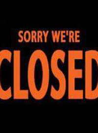 WEDNESDAY 27th DECEMBER – SORRY WE ARE CLOSED