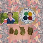 Fun outdoor project: Using recycled crayons to identify leaves