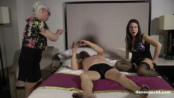 Dana Specht and Sarah Gregory are both mad at Lee in Raging Wife Angry Mistress