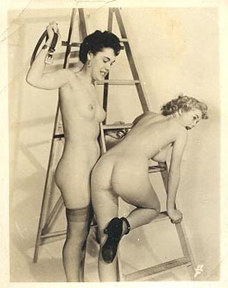 vintage otk spanking panties