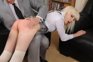 spanked in front of audience