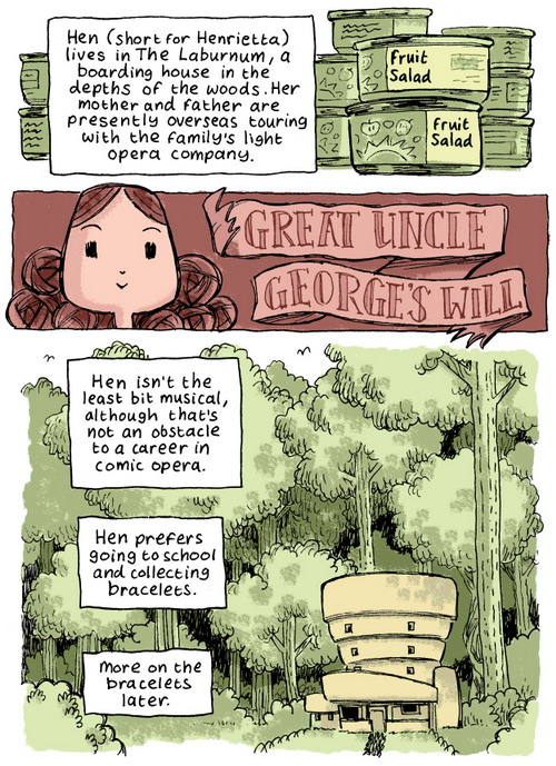 Great Uncle George's Will by Andi Watson