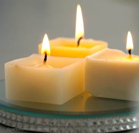 candle glow -What to do with your old, used candles?