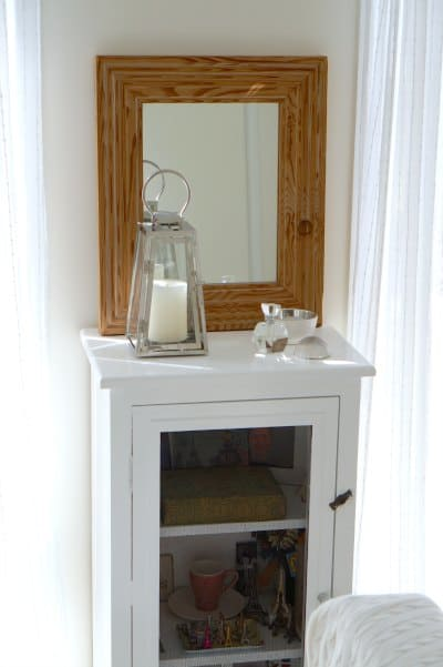 mirror and transformed meat safe