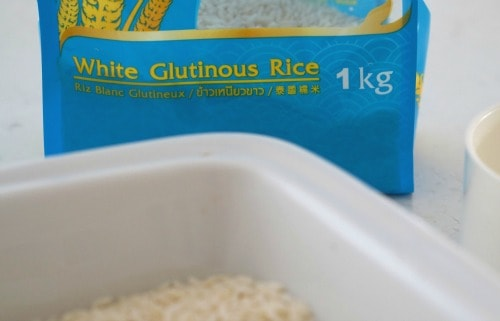 how to make thai sticky rice in the microwave