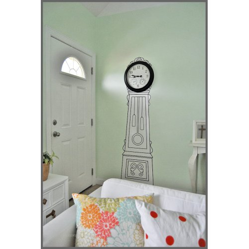 Medium Crop Of Grandfather Clock Wall Stickers