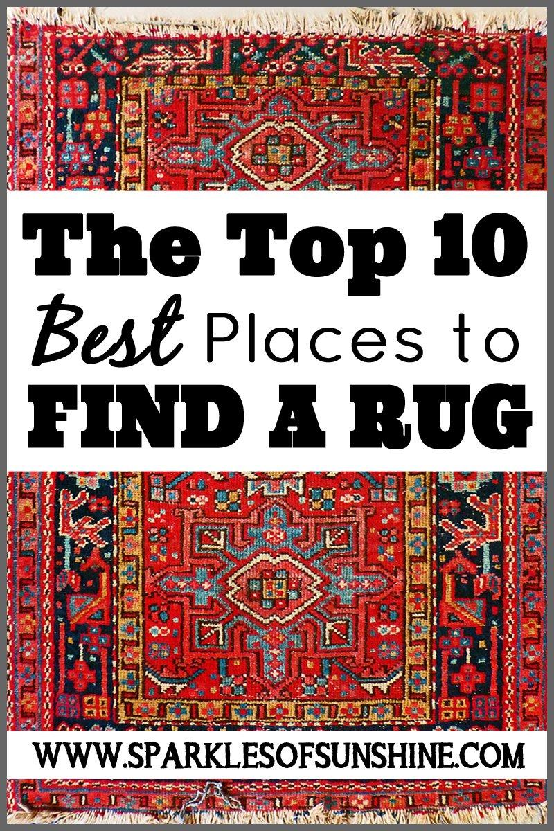 top 10 best places to find a rug sparkles of sunshine. Black Bedroom Furniture Sets. Home Design Ideas