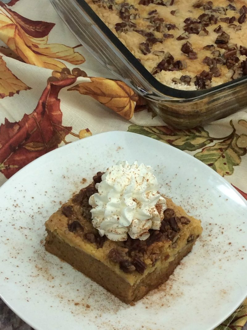 Pumpkin Dump Cake Recipe 3