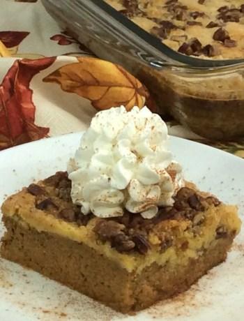 Pumpkin dump cake 4-7