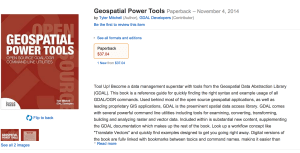 Geospatial Power Tools by Tyler Mitchell now on Amazon