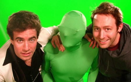 Ciraldo & Swant with Green Friend Rosas