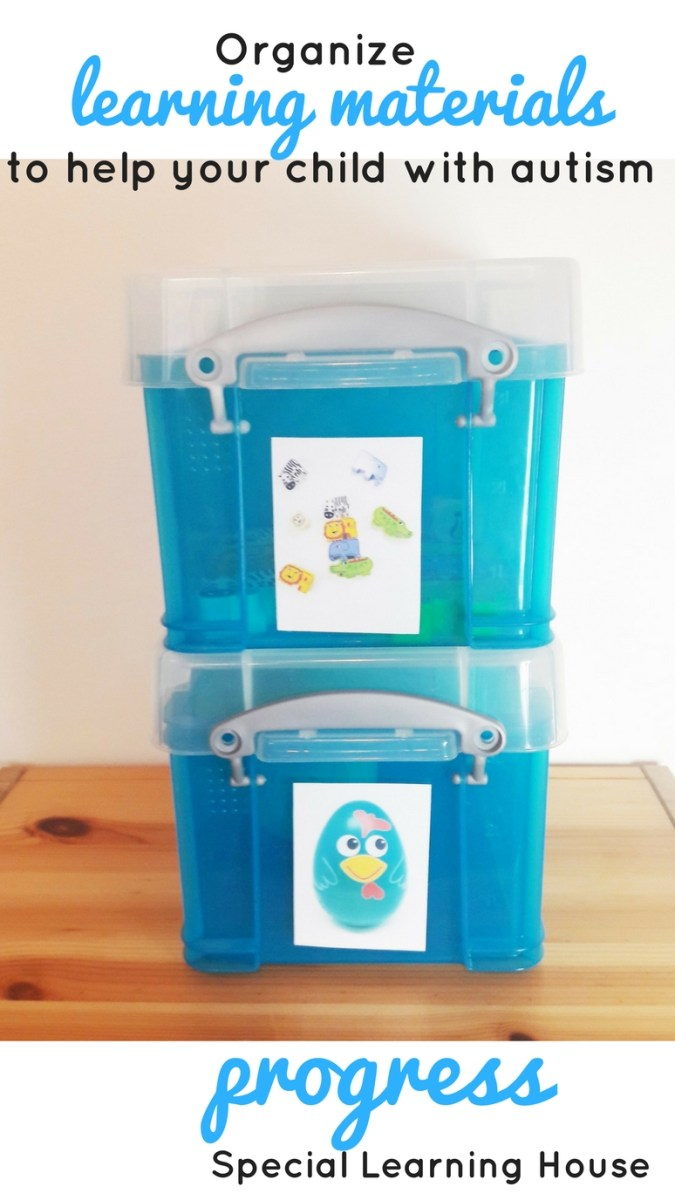 Organize your child's educational materials