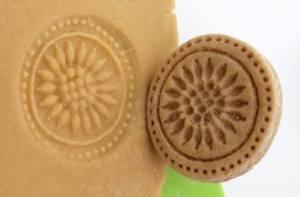 DIY salt dough food stamps