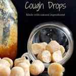 Natural, homemade cough drops