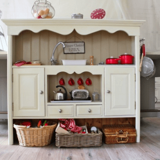 DIY play kitchen
