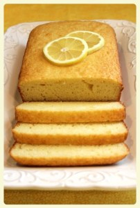French lemon yogurt cake. Featured by Special Learning House. www.speciallearninghouse.com.