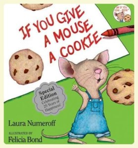 If You Give A Mouse A Cookie. Favorite bedtime stories for children with autism. Featured by Special Learning House.