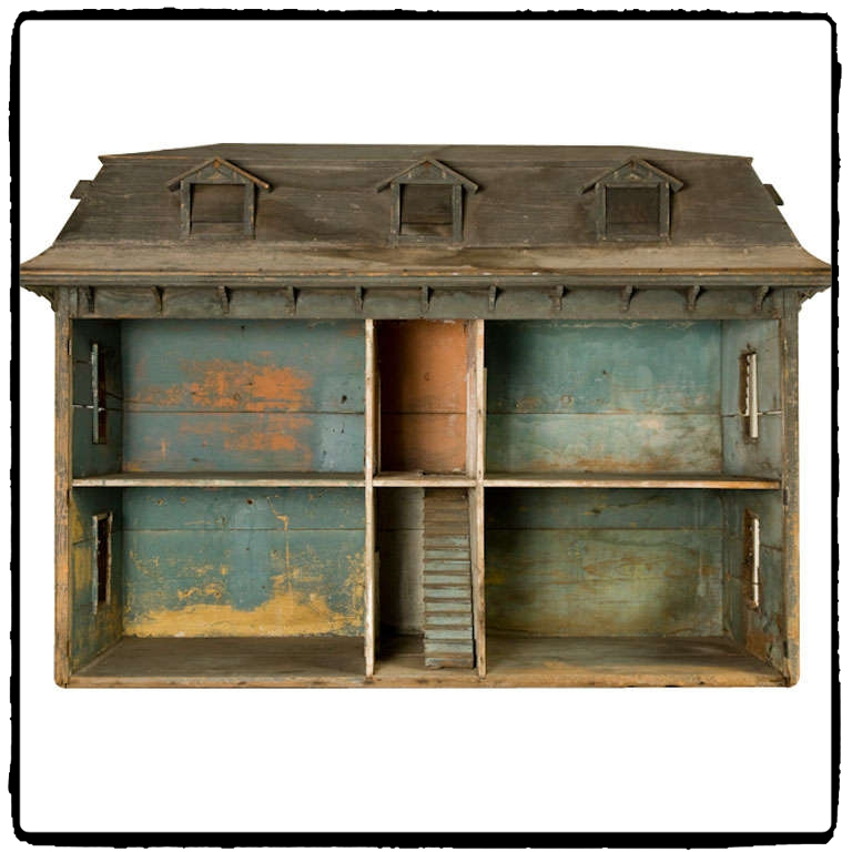 Original antique dollhouse. Symbolic play fun for the whole family! Discover 5 vintage toys and their modern-day equivalents!
