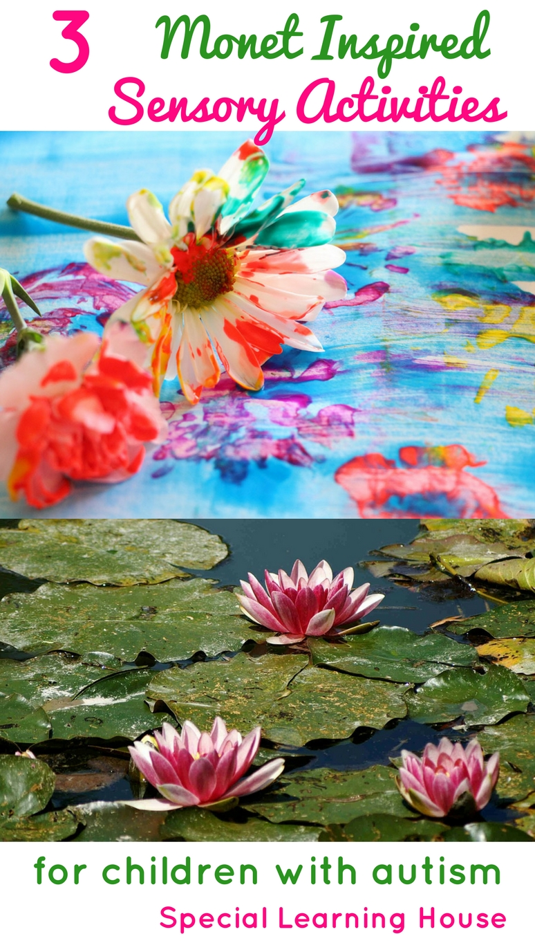 Monets Garden 3 Monet Inspired Sensory Projects For Kids With