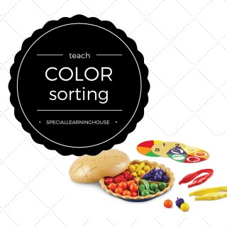 Super sorting pie color sorting game