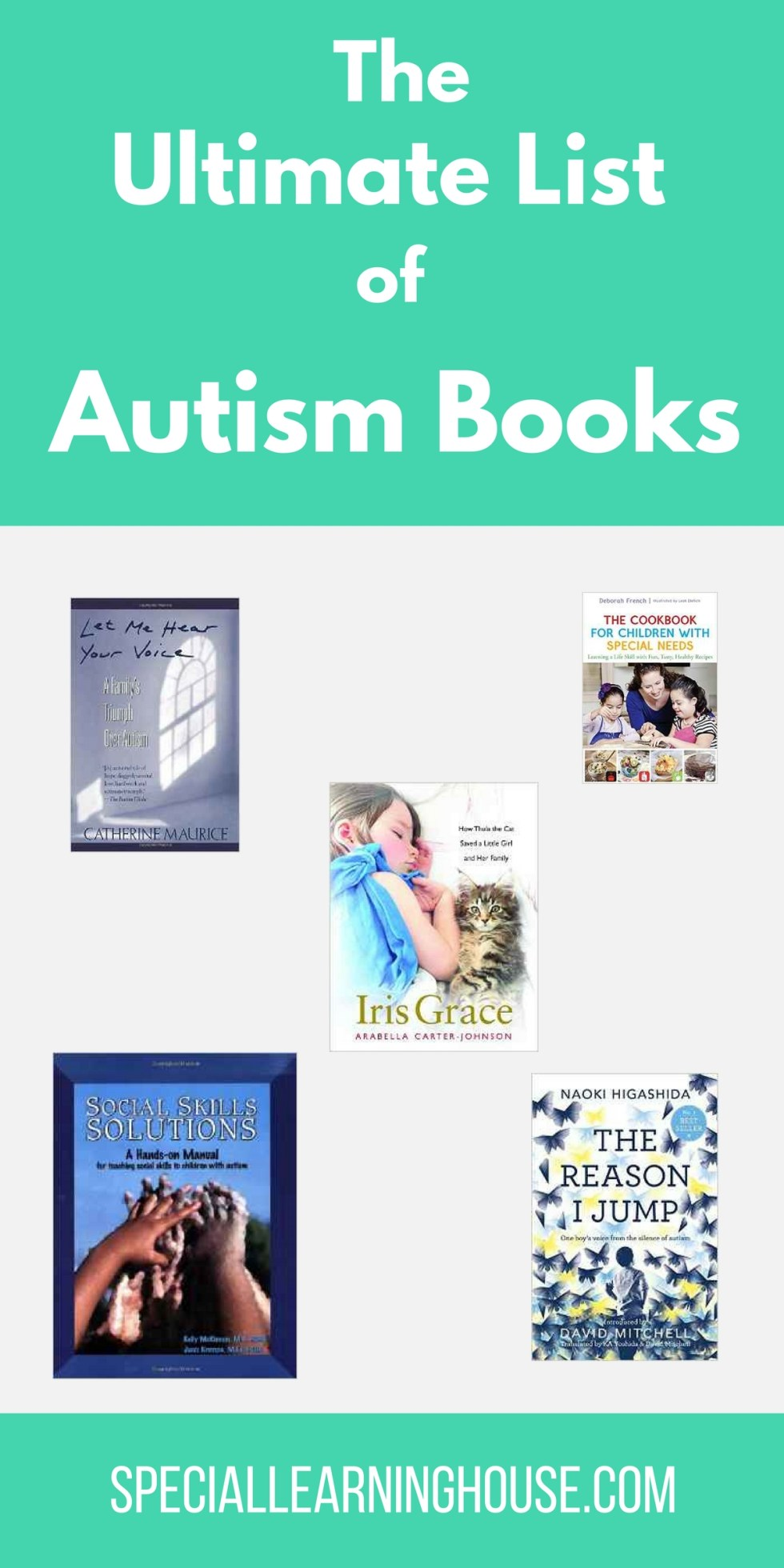The Ultimate List of Autism Books. | speciallearninghouse.com