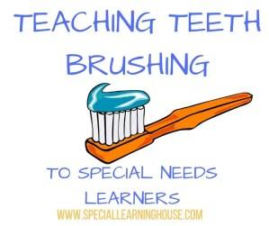 Teaching teeth brushing
