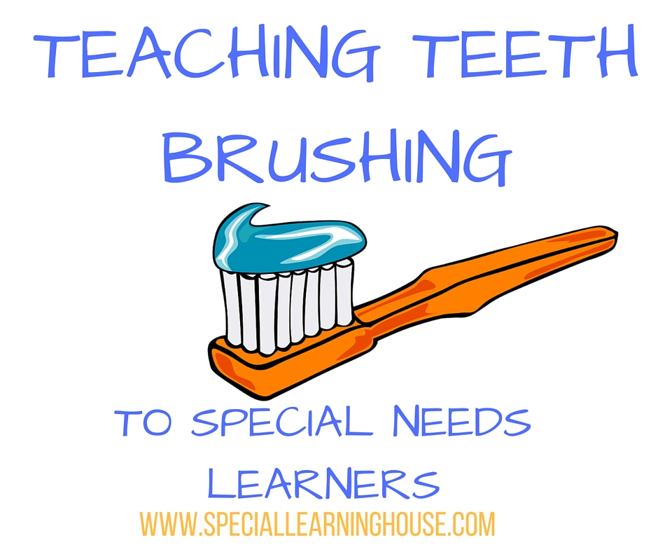 teaching teeth brushing