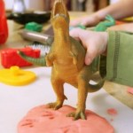 PLAYDOUGH STAMPING : SENSORY FUN FOR CHILDREN ON THE AUTISM SPECTRUM. Featured by SPECIAL LEARNING HOUSE. www.speciallearninghouse.com.