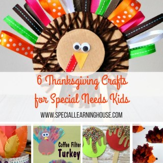 6 Thanksgiving kids crafts