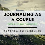 Journaling as a couple