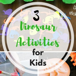 3 Dinosaur activities that will increase engagement and family fun at home!