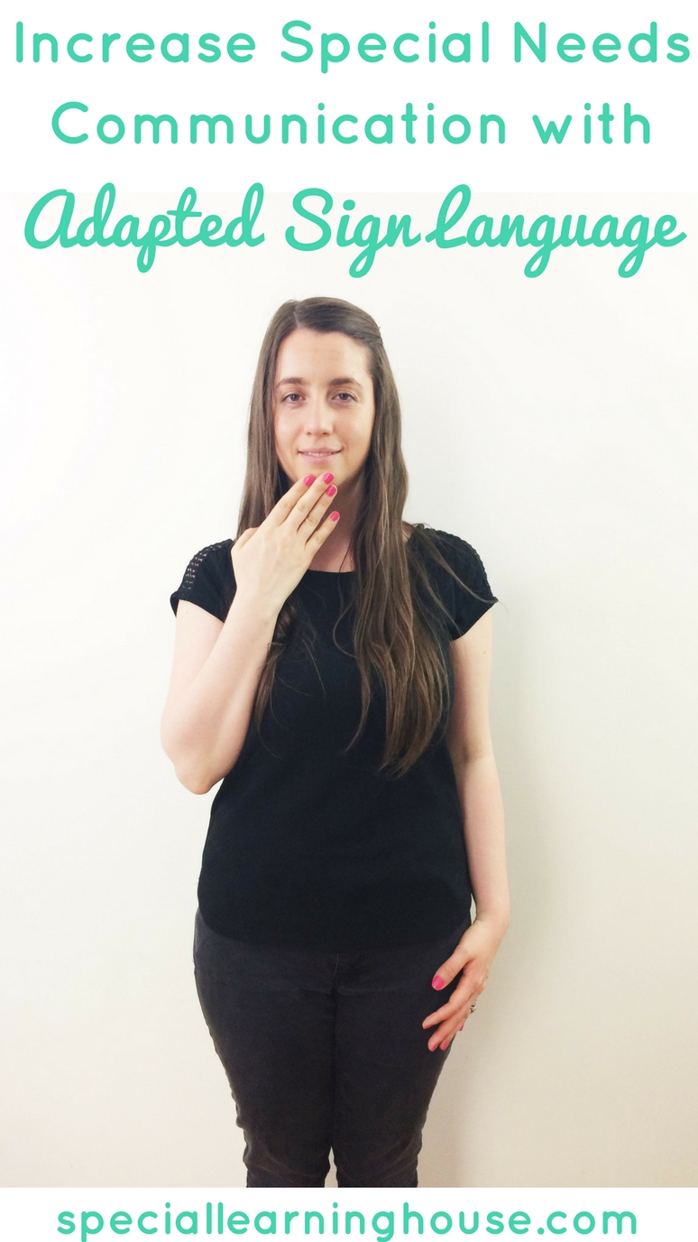 Autism and sign language : a powerful way to teach your child to communicate. | speciallearninghouse.com