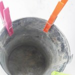 Pail and clothespins autism activity : one of my favorite fine motor skills activities!