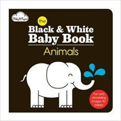 The Animals Black & White Board Book. Best Board Books for Kids with Autism. | speciallearninghouse.com