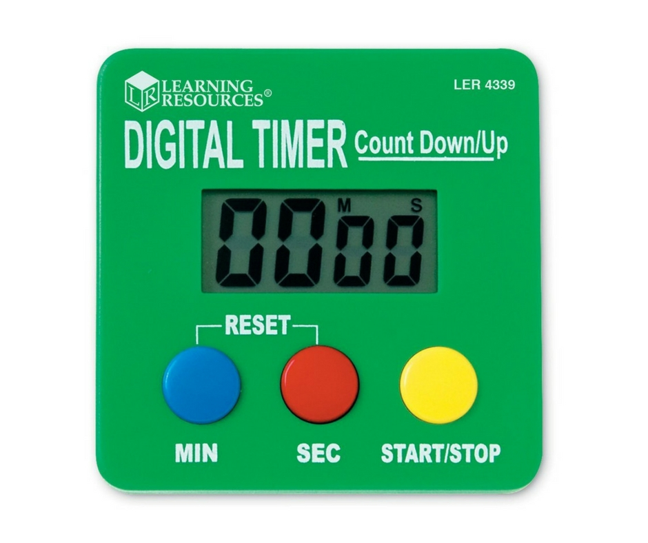 Autism Gift Guide Digital Timer. speciallearninghouse.com