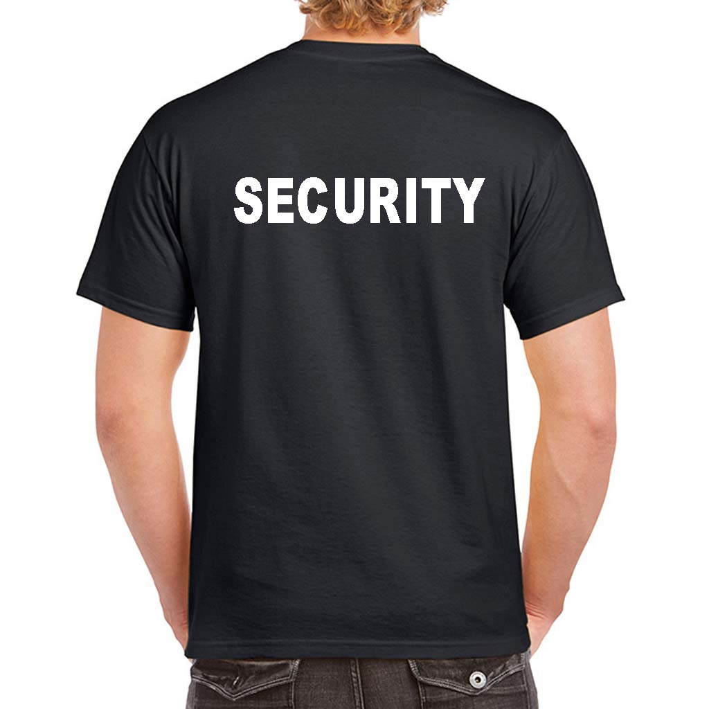 Security T Shirts Custom Security Uniform 100 Cotton