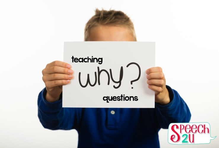 Teaching WHY questions