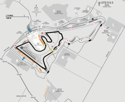 2.3-mile short course at Circuit of the Americas.Credit: Circuit of the Americas