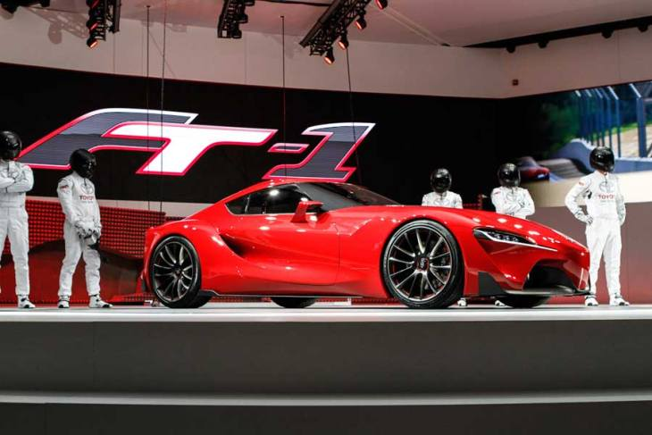Toyota FT-1 at 2014 NAIAS