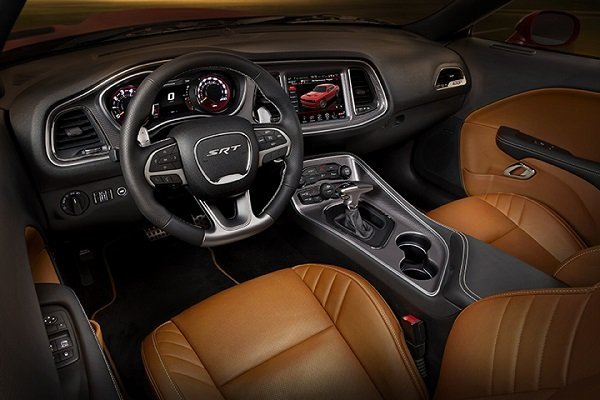 2015 Dodge Challenger SRT with the HEMI® Hellcat engine - Sepia
