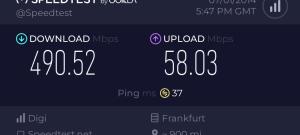 Test broadband FL 1000