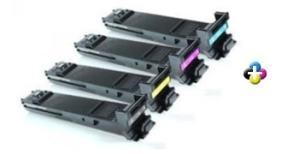 Xerox WorkCentre 6400 Compatible 4 Pack High Yield toner cartridges (Black, Cyan, Magenta, Yellow)