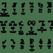 The Origin of Enochian Alphabet