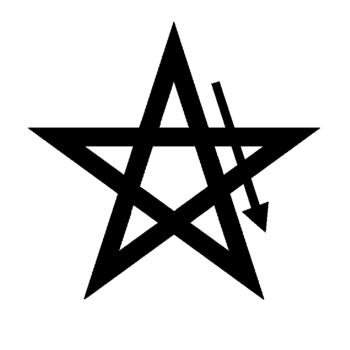 Pentagram fire invoking